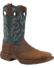 Rebel by Durango Men's Western Work Boots, Tan, hi-res