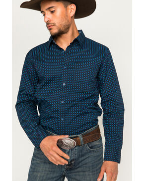 Cody James® Men's Day Tripper Long Sleeve Shirt, Black, hi-res