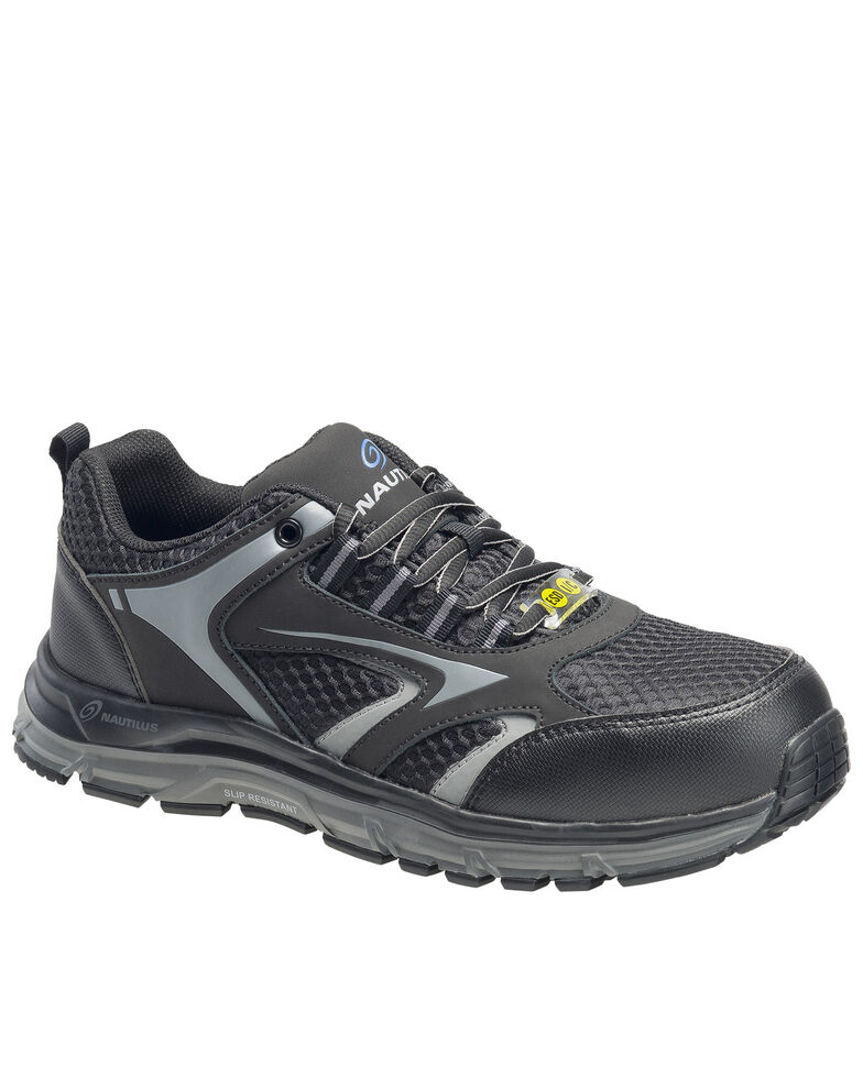 Nautilus Men's Tempest Work Shoes - Alloy Toe, Black, hi-res