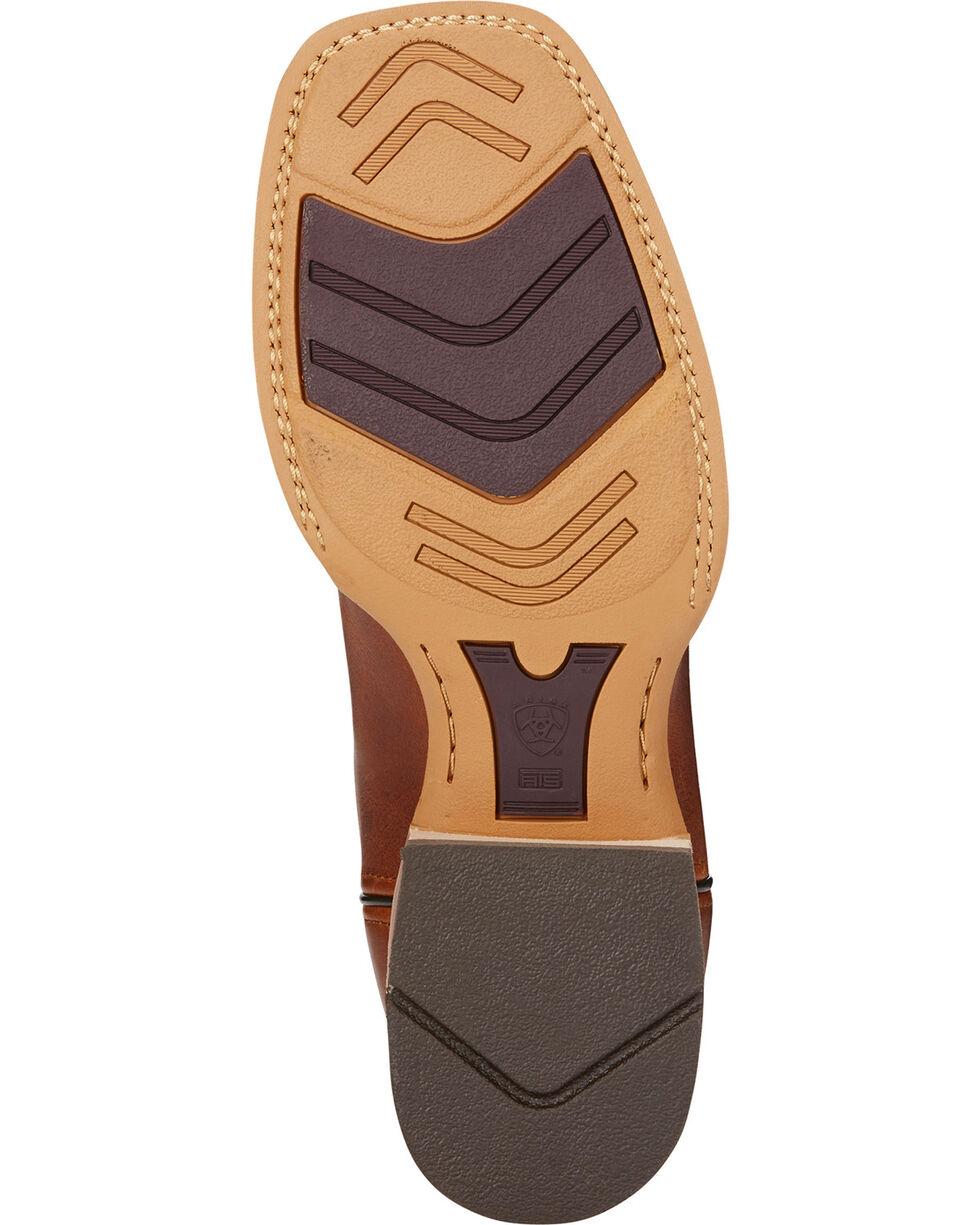 Ariat Men's Brown Quickdraw VentTEK Vintage Boots - Square Toe , Brown, hi-res
