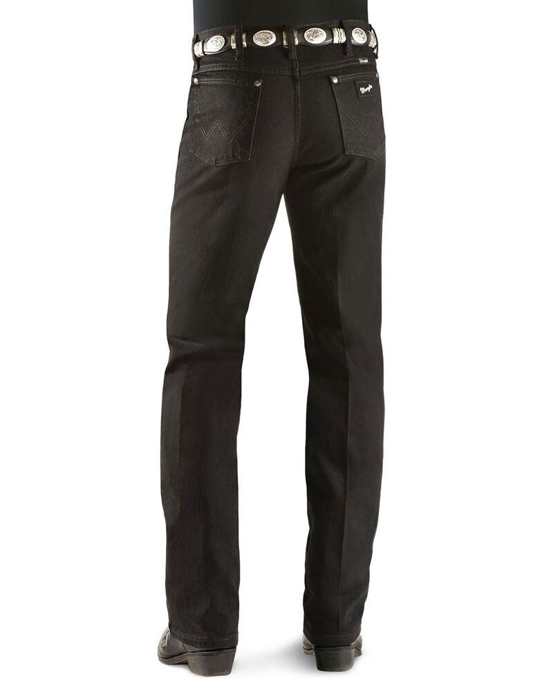 Wrangler Men's Silver Edition Slim Fit Jeans, Black Denim, hi-res