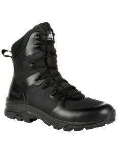 Rocky Men's Code Blue Service Boots - Soft Toe, Black, hi-res