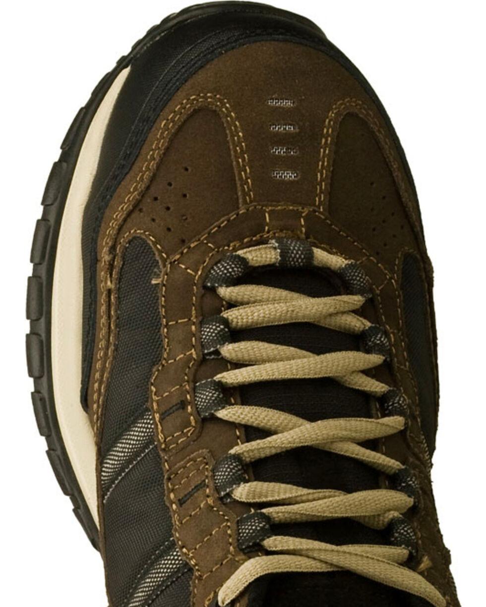 Skechers Men's Brown Soft Stride Grinnell Slip Resistant Work Shoes - Comp Toe, Brown, hi-res