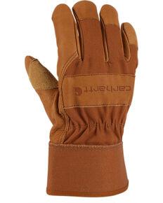 Carhartt Grain Leather Work Gloves, Brown, hi-res