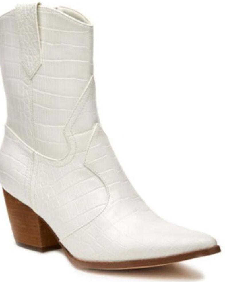 Matisse Women's Bambi Fashion Booties - Pointed Toe, White, hi-res