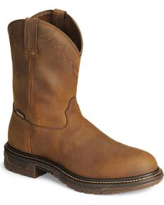 Rocky Men's Roper Original Ride Western Boots, Tan, hi-res