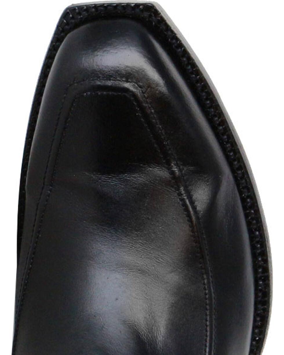 Lucchese Men's Kangaroo Exotic Boots, Black, hi-res