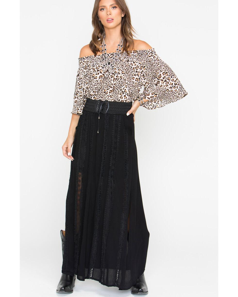 Shyanne® Women's Leopard Off The Shoulder Top, Leopard, hi-res