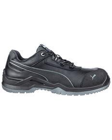 Puma Men's Argon Work Shoes - Composite Toe, Black, hi-res