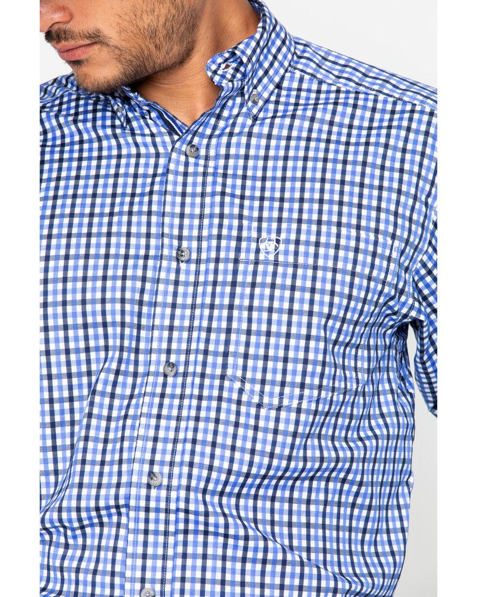 Ariat Men's Print Talbott Shirt - Big & Tall , White, hi-res
