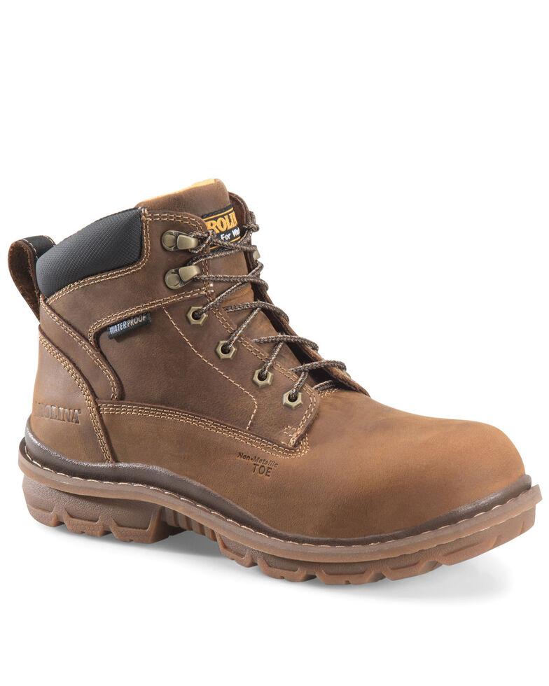 Carolina Men's Dormite Work Boots - Composite Toe, Brown, hi-res