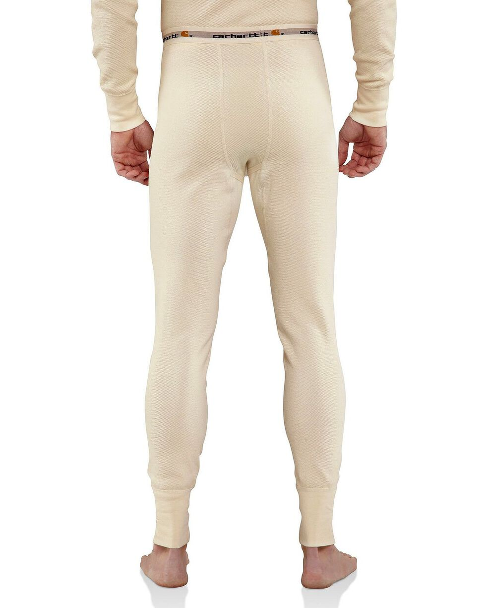 Carhartt Heavy Weight Cotton Thermal Underwear, Natural, hi-res