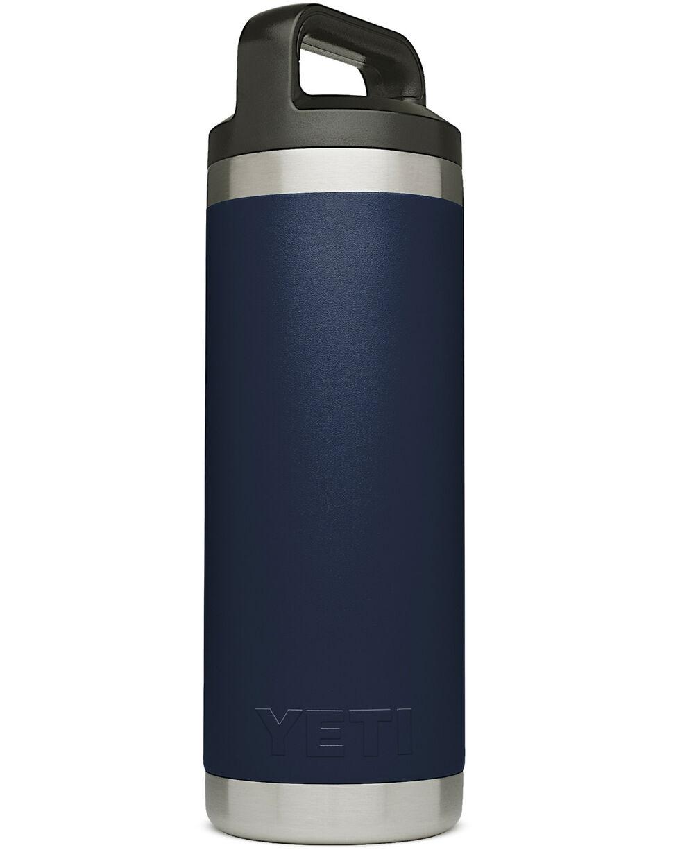 Yeti Navy 18oz Rambler Bottle, Navy, hi-res