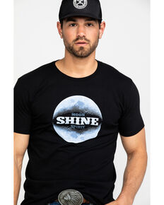 Moonshine Spirit Men's Moon Landing Graphic T-Shirt , Black, hi-res
