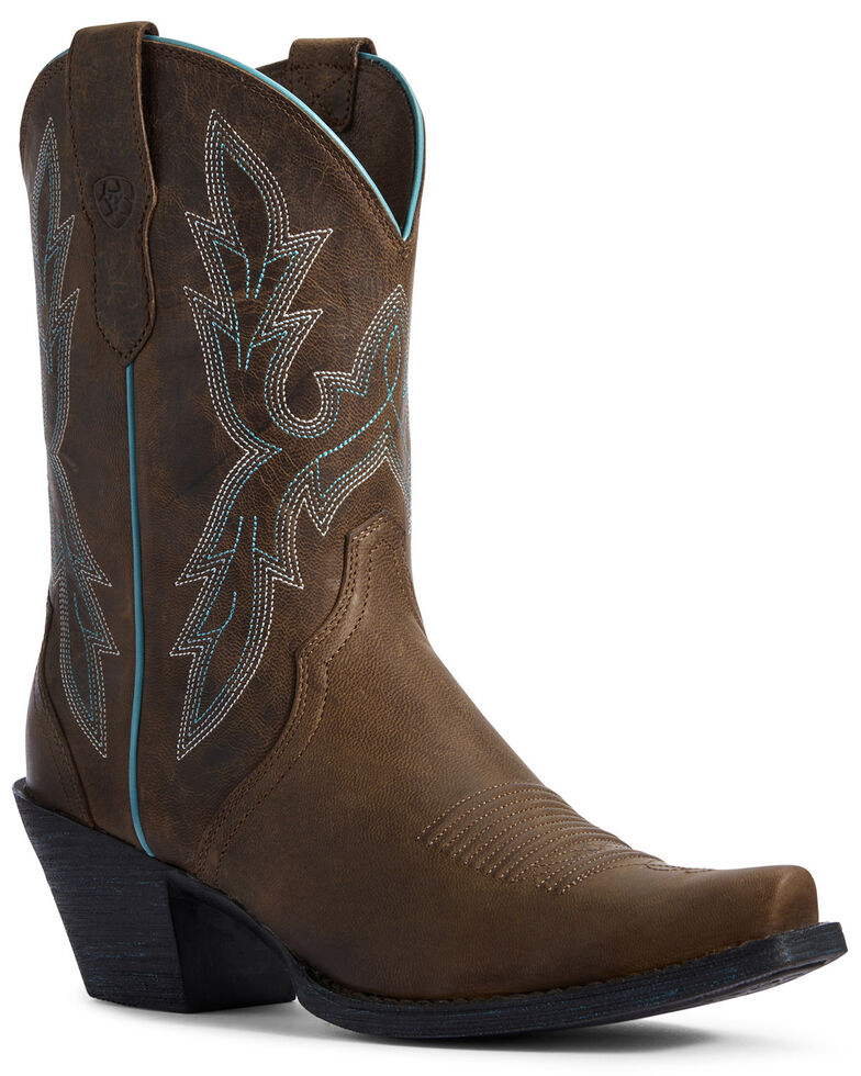 Ariat Women's Round Up Bella Western Boots - Snip Toe, , hi-res