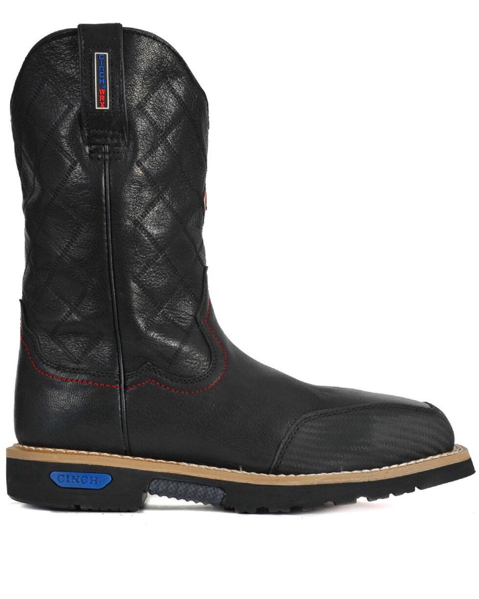Cinch Men's WRX Slip Resistant Work Boot, Black, hi-res
