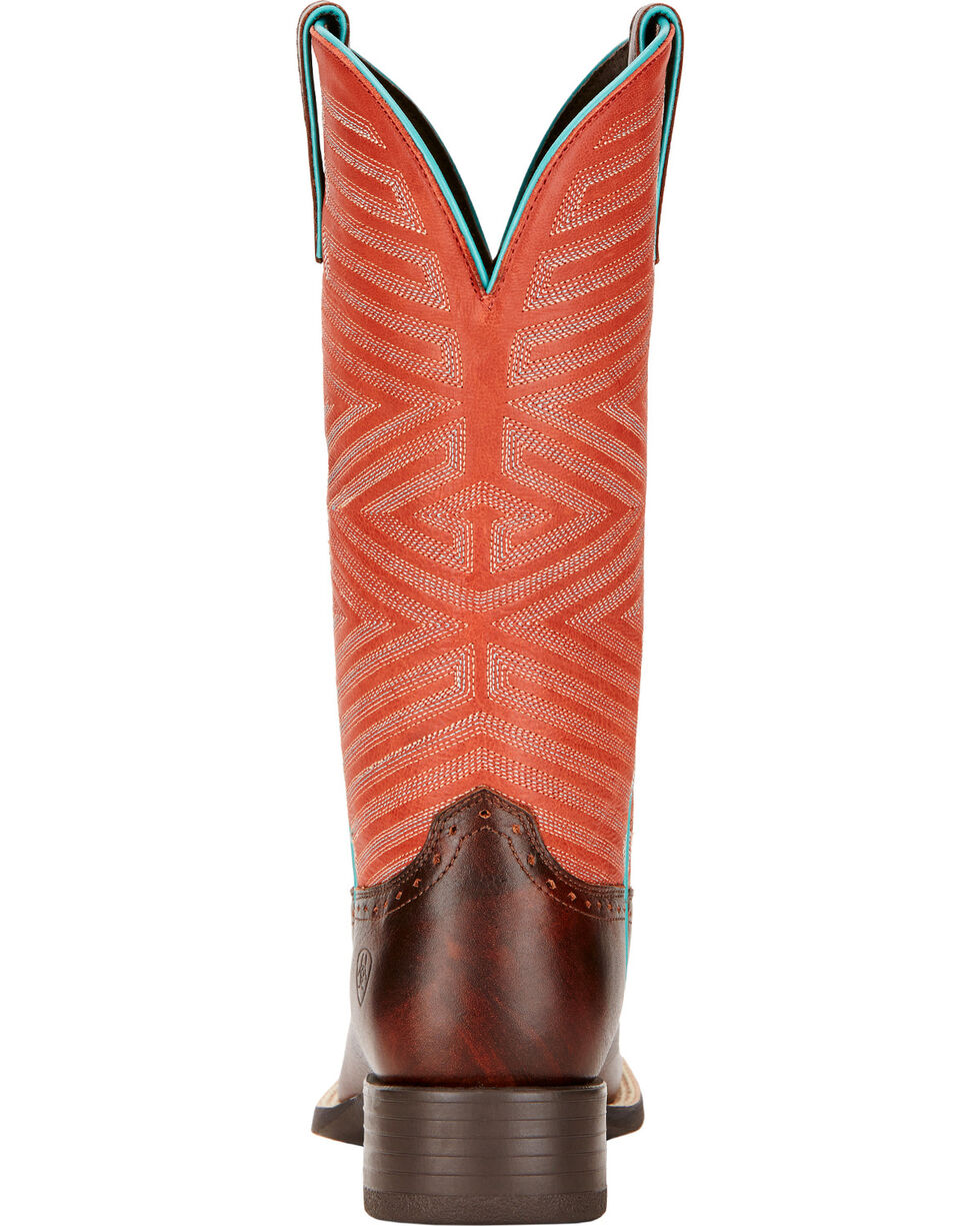 Ariat Women's Outsider Western Boots, Brown, hi-res
