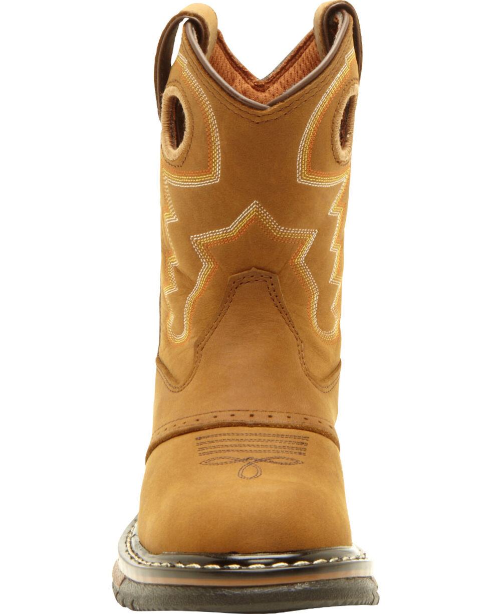 Rocky Kid's Branson Roper Western Boots, Tan, hi-res