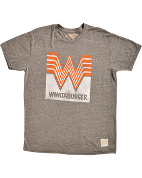 Original Retro Brand Men's Whataburger Tee, Grey, hi-res