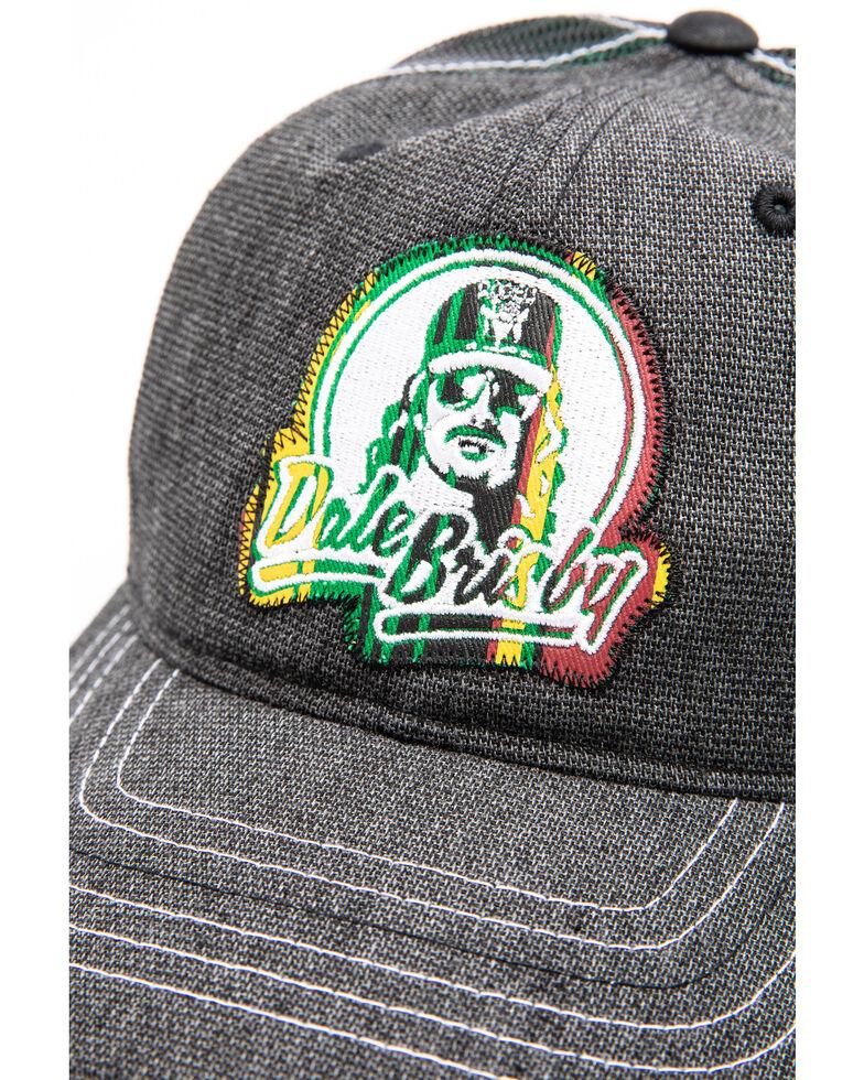 Dale Brisby Men's Serape Logo Patch Trucker Cap , Charcoal, hi-res