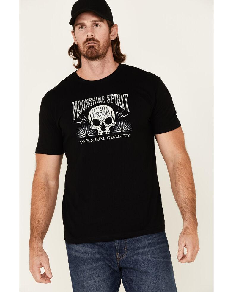 Moonshine Spirit Men's Mezcal Graphic Short Sleeve T-Shirt , Black, hi-res
