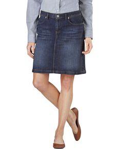 Dickies Denim Skirt, Dark Stone, hi-res