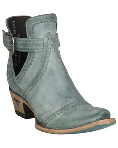 Lane Women's Cahoots Fashion Booties - Snip Toe, Turquoise, hi-res