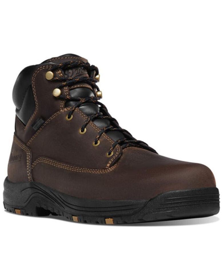 Danner Men's Caliper Waterproof Work Boots - Aluminum Toe, Brown, hi-res