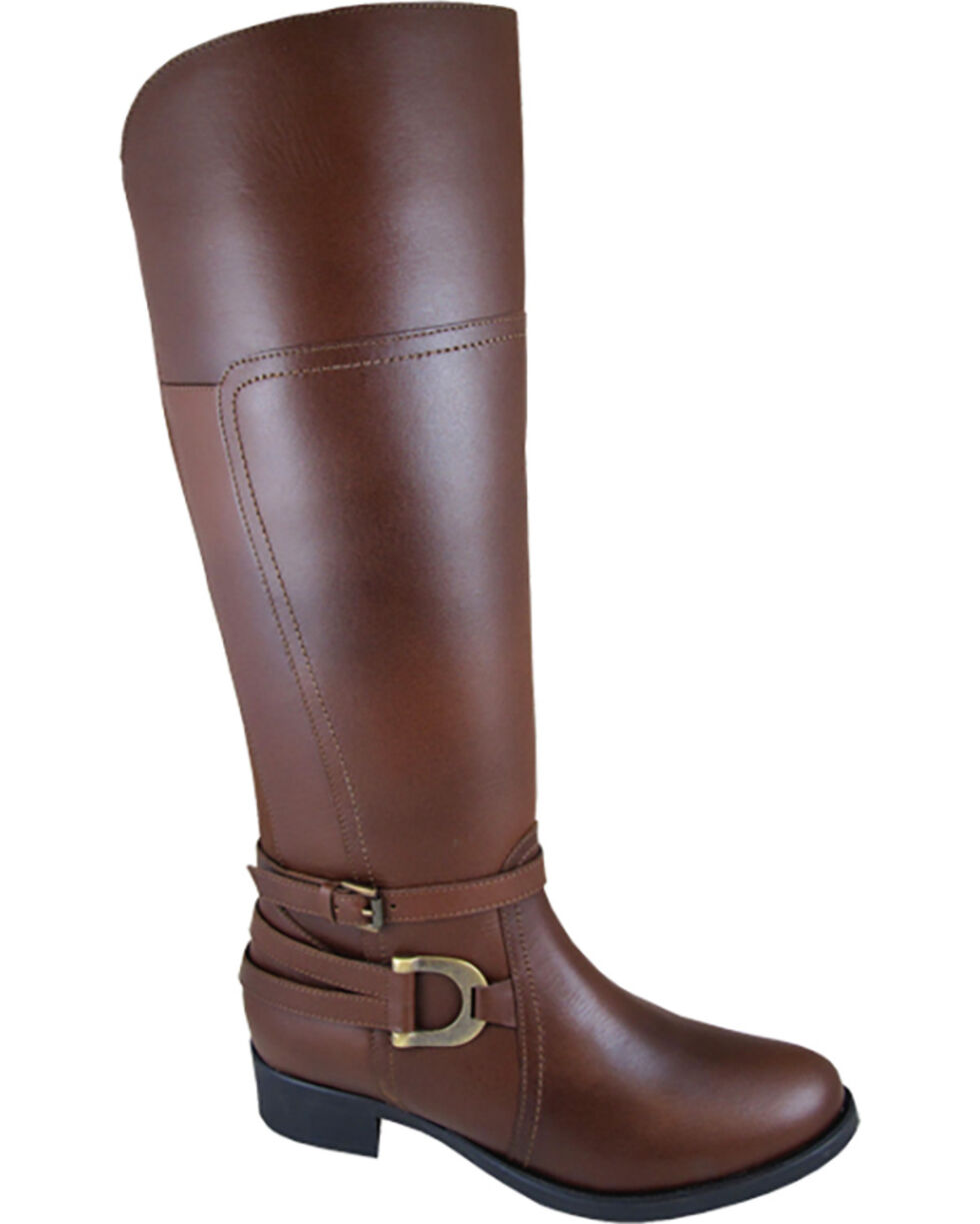 Smoky Mountain Women's Marion Tall Riding Boots , Brown, hi-res