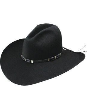 Resistol Cisco 2X Wool Hat, Black, hi-res
