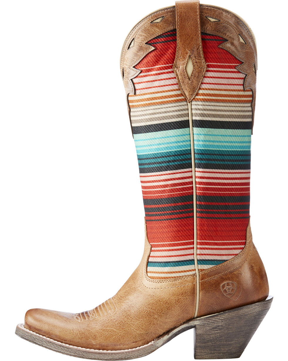 Ariat Women's Tan Circuit Cheyenne Western Boots - Square Toe , , hi-res