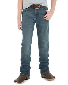 Wrangler 20X Boys' No.44 Fallon Low Slim Straight Jeans , Blue, hi-res