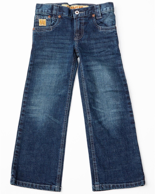 Cinch Boys Carter Dark Wash Regular Fit Jeans Boot Cut 8-18