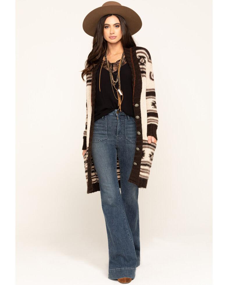 Double D Ranch Women's Spanish Pony Sweater, Multi, hi-res