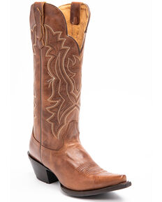 Idyllwind Women's Britches Western Boots - Snip Toe, Tan, hi-res