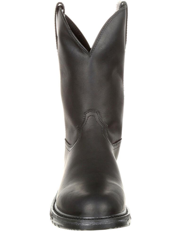 46d28bc77ab Rocky Men's Original Ride Flex Western Work Boots - Round Toe
