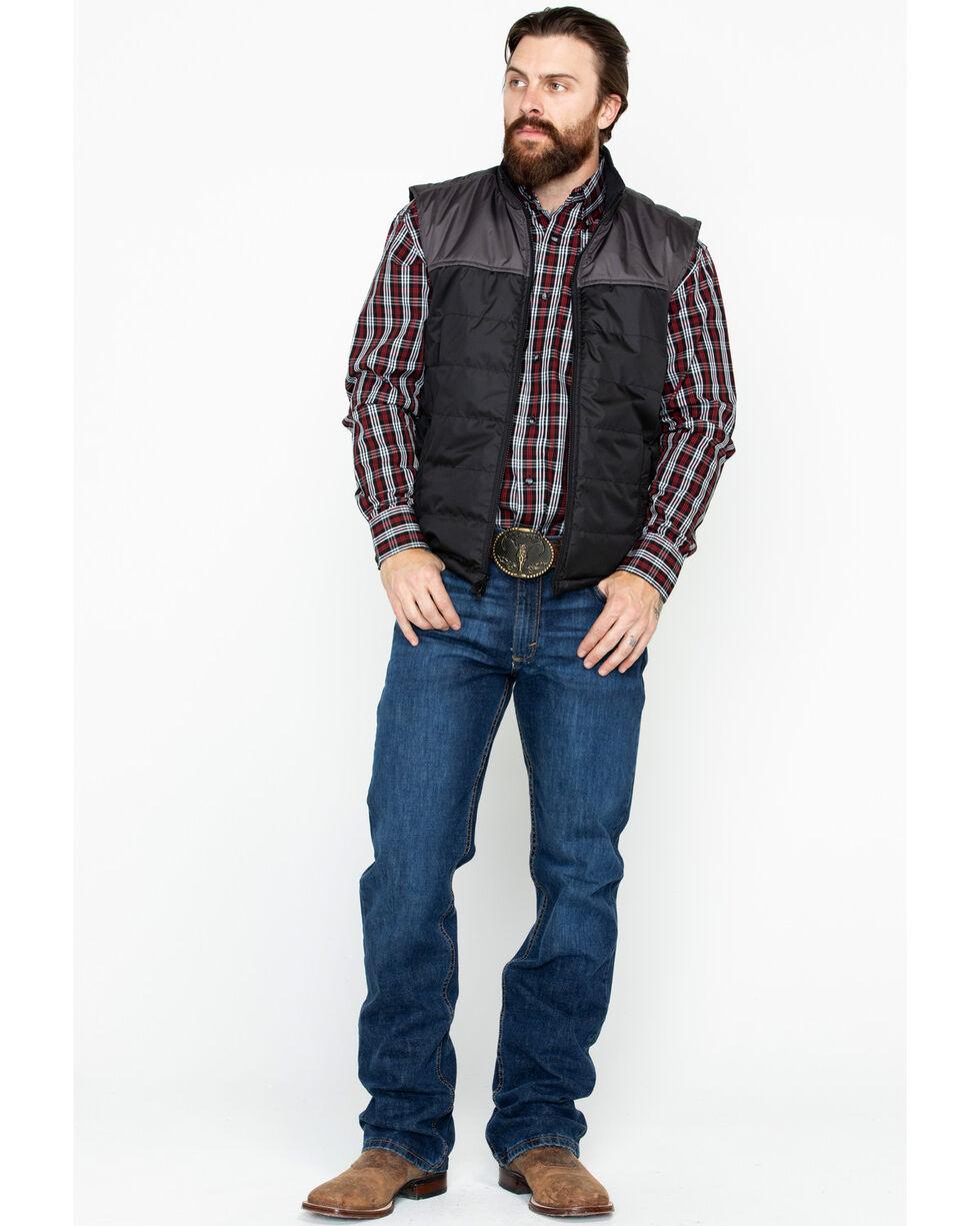 Outback Trading Men's Jericho Vest, Black, hi-res