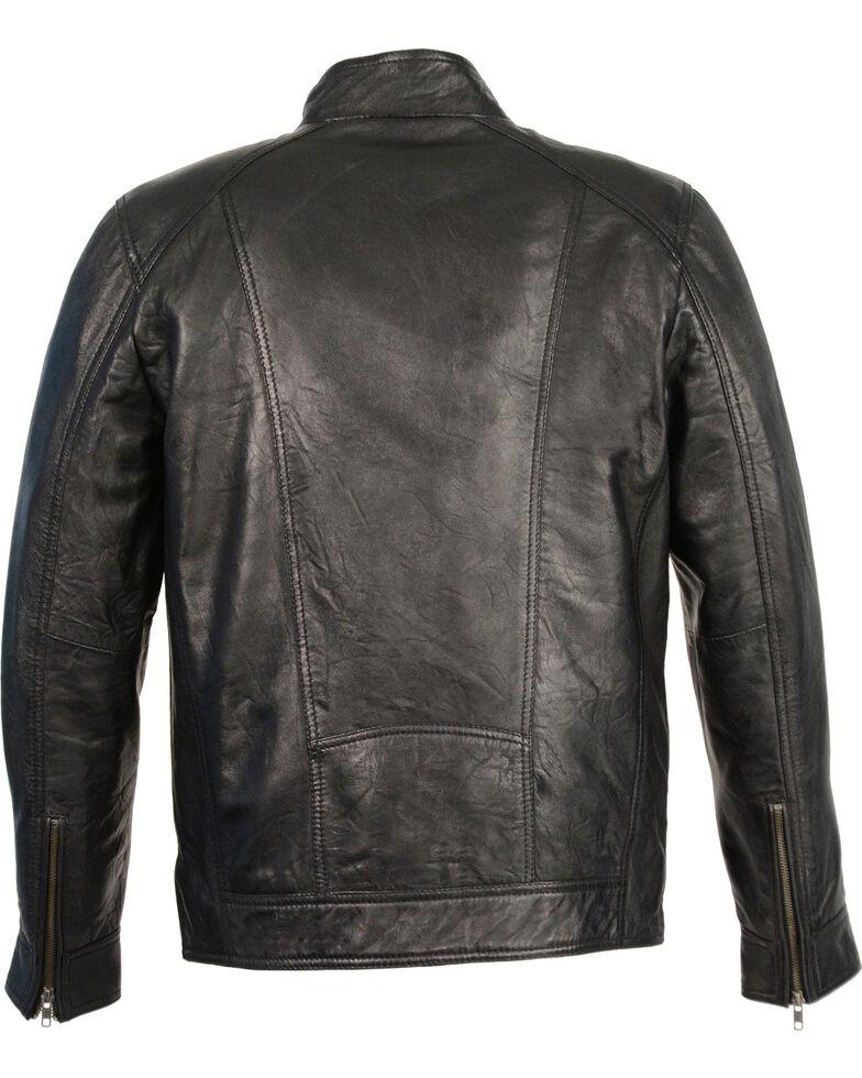 Milwaukee Leather Men's Sheepskin Moto Leather Jacket - 5X, , hi-res