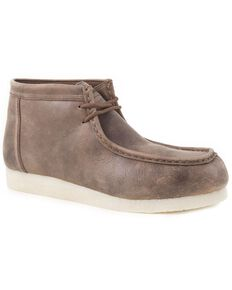 Roper Men's Moc Toe Chukka Casual Boots, Brown, hi-res