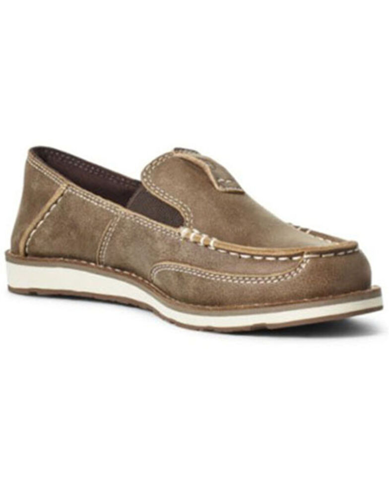 Ariat Boys' Brown Cruiser Shoes - Moc toe, Brown, hi-res