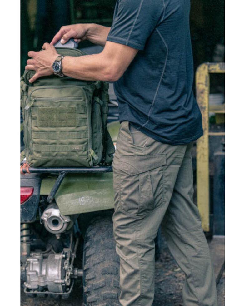 5.11 Tactical Men's Range Ready Merino Wool Short Sleeve Work T-Shirt , Dark Blue, hi-res