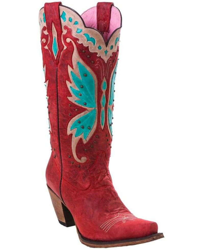 23d12ca4831 Junk Gypsy by Lane Women s Day Dreamer Strawberry Cowgirl Boots - Snip Toe