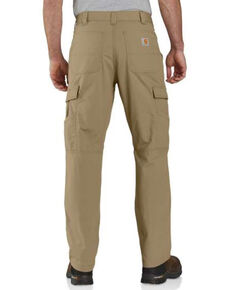 Carhattt Men's Dark Khaki M-Force Relaxed Ripstop Cargo Work Pants , Beige/khaki, hi-res