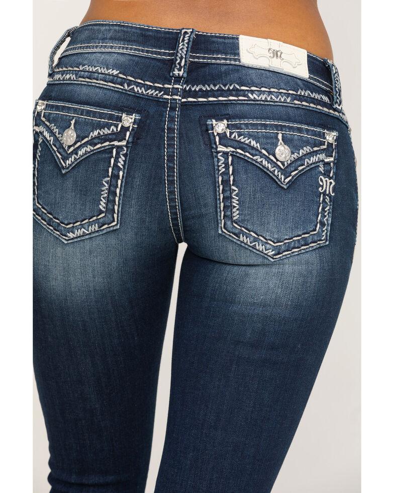 Miss Me Women's Dark Chloe Bootcut Jeans, Blue, hi-res