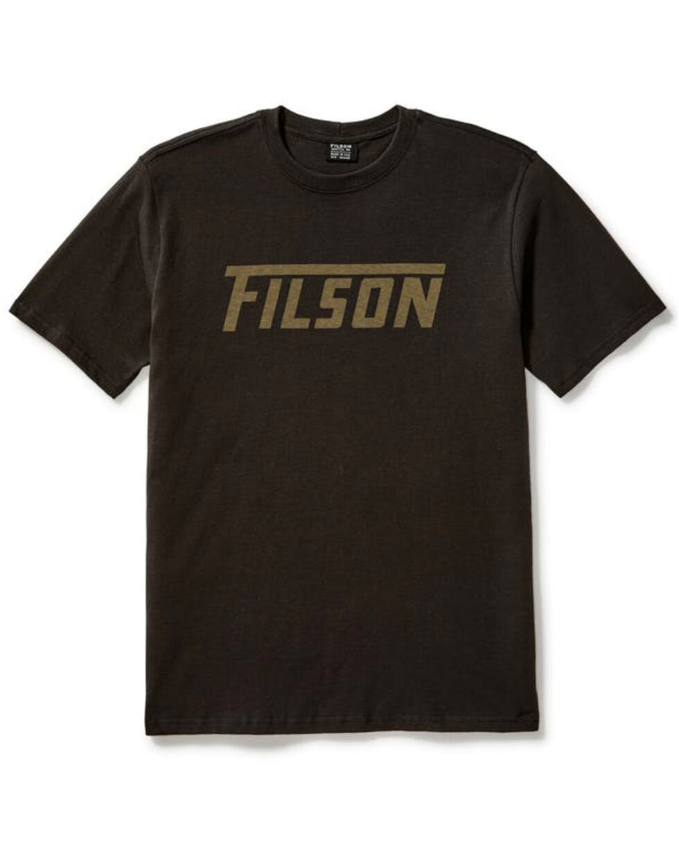Filson Men's Outfitter Graphic T-Shirt , Dark Grey, hi-res