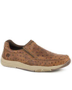 Roper Men's Ulysses Tan Casual Shoes, Tan, hi-res