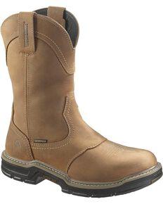 Wolverine Men's Anthem Waterproof Wellington Boots, Brown, hi-res