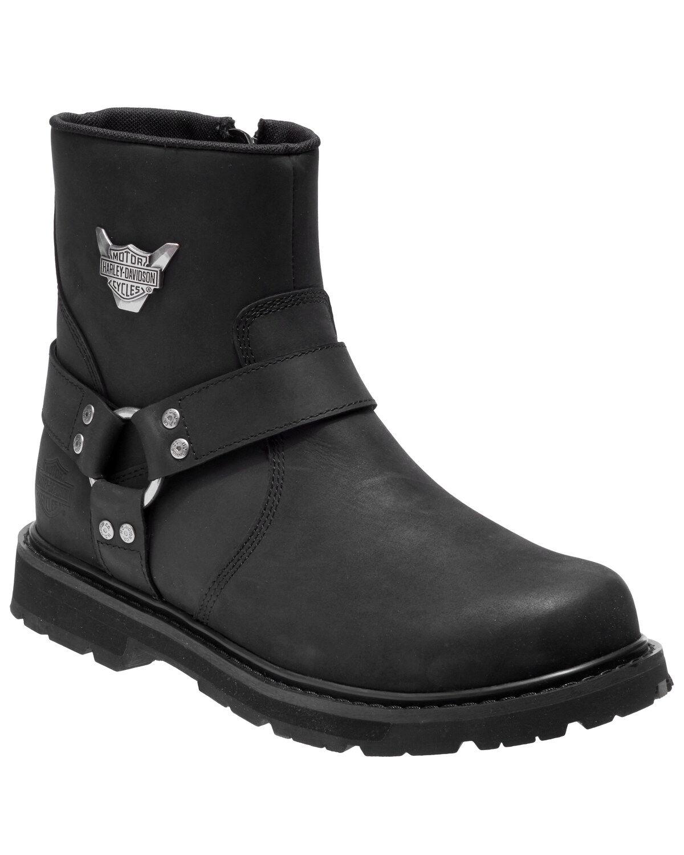 Rambert Moto Boots - Round Toe | Boot Barn
