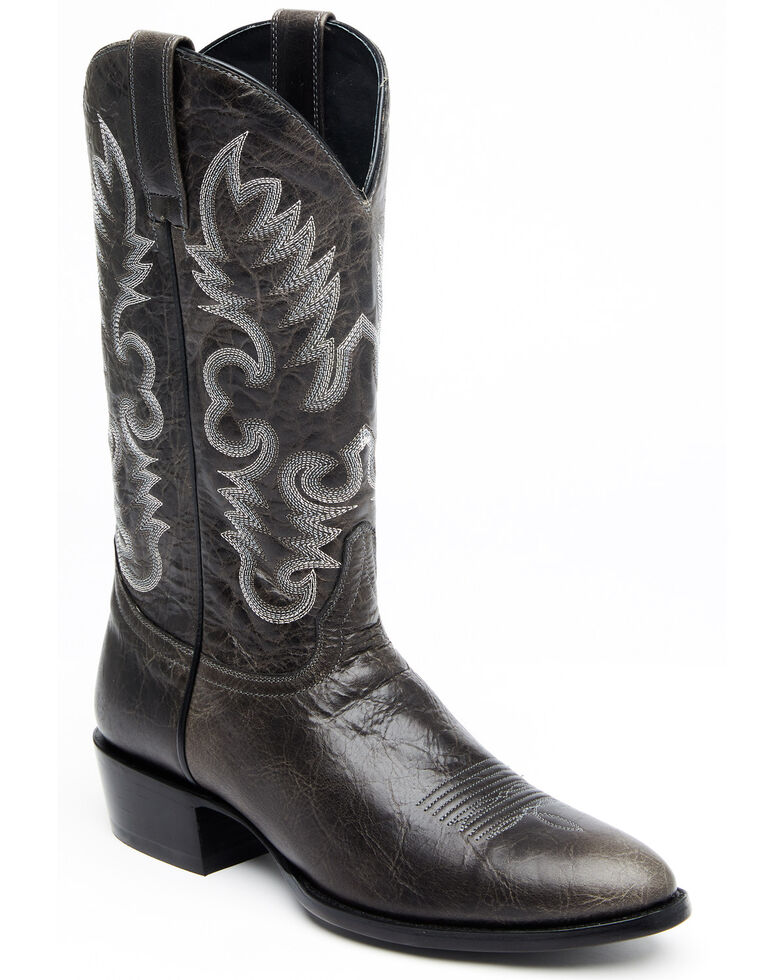 Cody James Men's Blackfish Western Boots - Round Toe, Black, hi-res