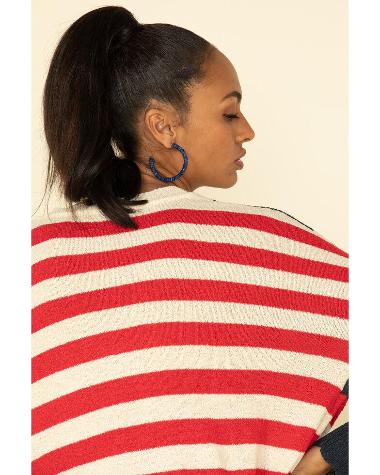 Show Me Your Mumu Women's Americana Bradley Sweater, Multi, hi-res